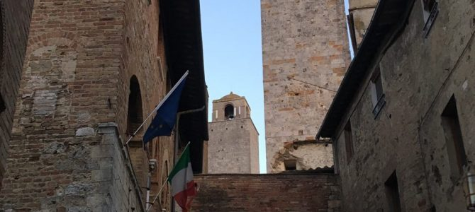 12. Tag Von Levanto nach San Gimignano