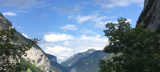 18. Tag von Täsch (Zermatt) nach Lauterbrunnen (Jungfraujoch) 106 km